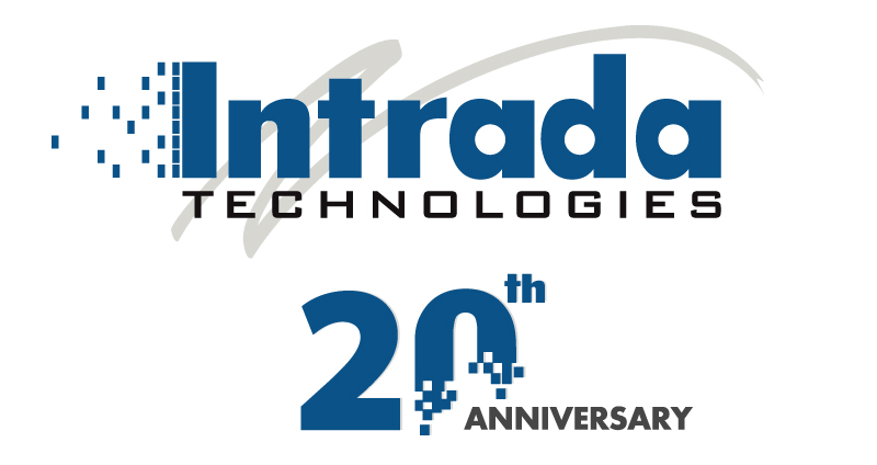 Intrada 20th Anniversary Logo